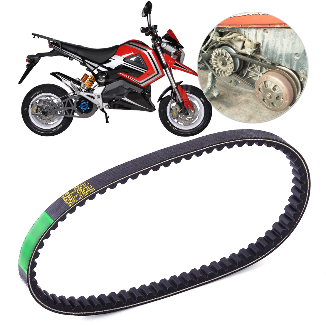 50cc Gy6 Scooter Moped Drive Belt 669-18-30