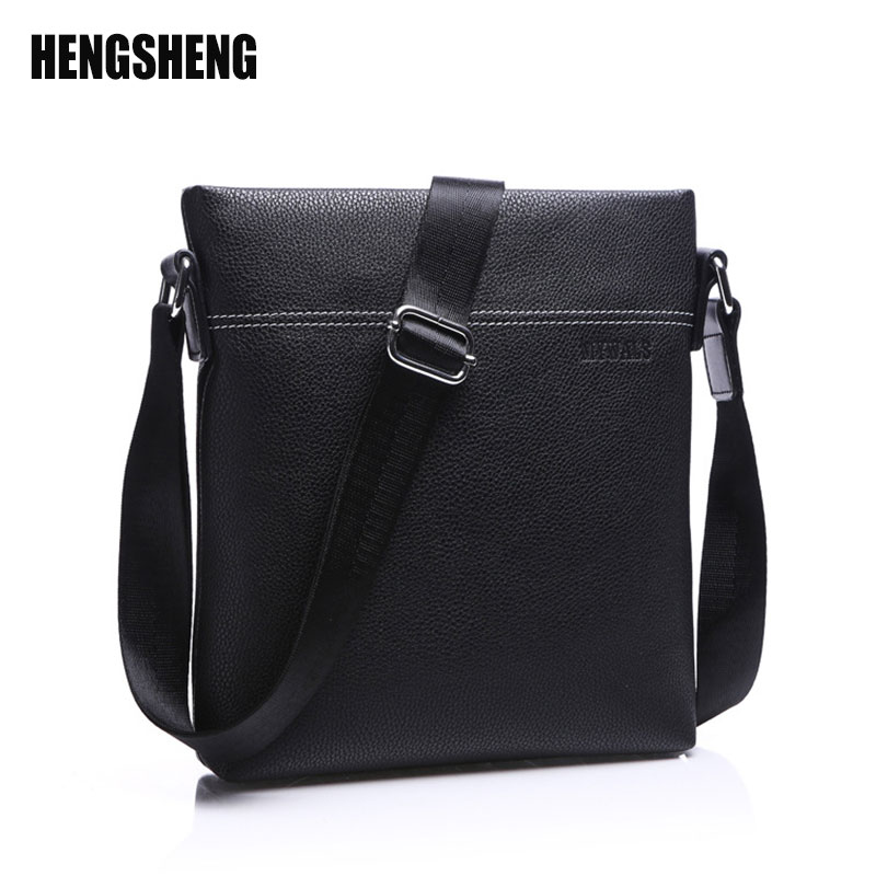 Leather Men Shoulder Bag Casual Business Satchel Pu Leather Bag Vintage Men's Crossbody Bag bolsas male A4887