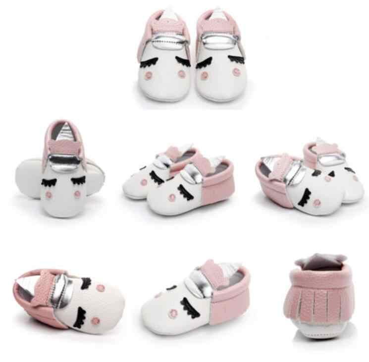 277ea01e6b New Blush angle Unicorn Baby boot Baby Soft Sole Shoes Infant Boys Girls  Toddler Winter Warm pu leather Baby Moccasins 0-24M UK