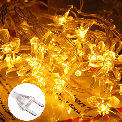 10M 100 Led Globe Bulb Led String Lights Outdoor Waterproof Christmas Garland Fairy Light Plug 220V Party Xmas Indoor Decoration globe fairy string bulb lights for indoor outdoor wedding christmas xmas thanksgiving party events home roof decor colorful