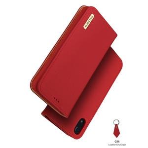 Image 5 - DUX DUCIS حقيقية محفظة جلدية حقيبة لهاتف أي فون XR الفاخرة خمر حقيقي جلدي فليب بطاقة غطاء ل فون Xs ماكس XR iPhoneXr