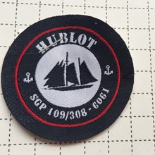 Custom -Made Double Density Fancy Cutting Woven Patch