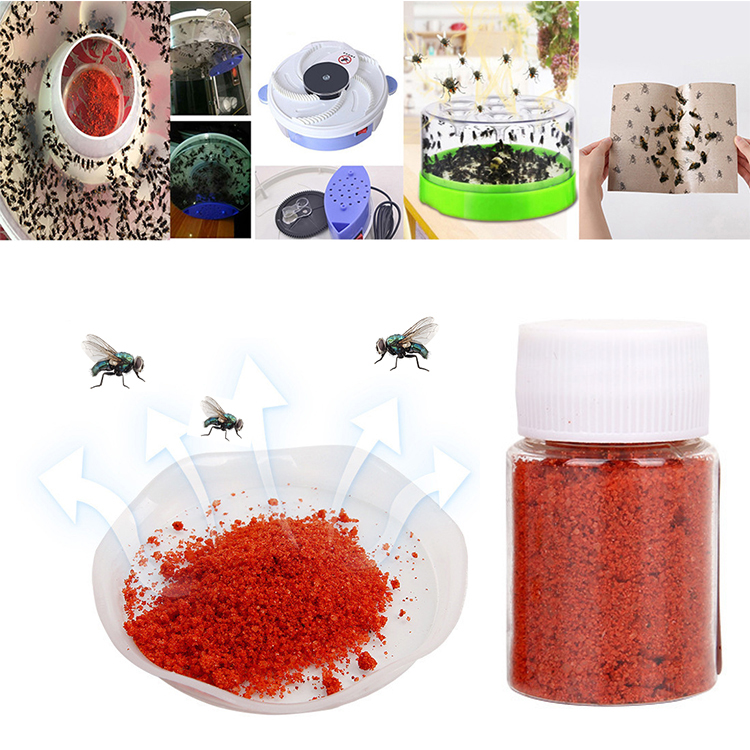 1PCS Suspension Flycatcher Reusable Folding Flytrap Summer Mosquito Trap Wasp Trap Catcher Fly With Attractant Trap
