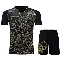 Футболка для настольного тенниса для мужчин/женщин, футболки для бадминтона, Спортивная футболка для пинг-понга, футболка для настольного тенниса