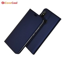 Ultra-thin PU Leather Flip Wallet Case Stand Cover For Xiaomi Mi A2 Lite