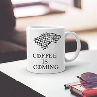 Stark Mugs Game Of Thrones Cup Coffee Is Coming Mug Cups Coffee Mug Best Gift For