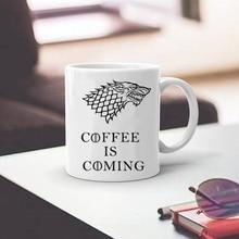 Stark tassen Game of Thrones tasse kaffee ist kommende becher tassen kaffee becher beste geschenk für sich selbst
