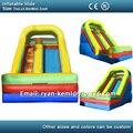 7 m gigante tobogán inflable para adultos en venta juguetes inflables tobogán inflable China con ventilador