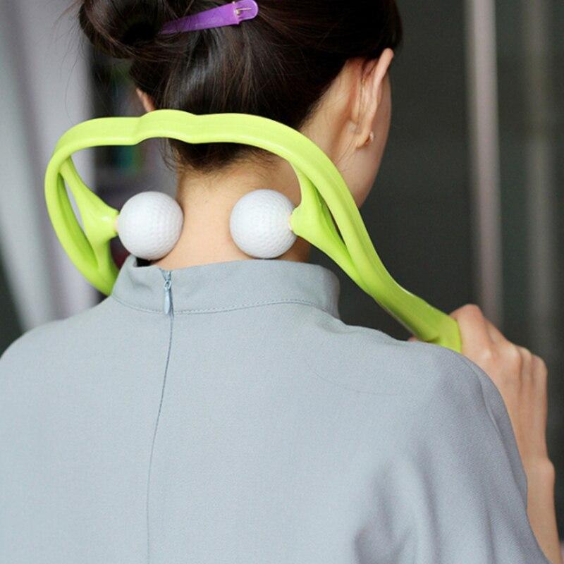 Manual de masaje cervical multifuncional hogar pequeño aparatos de masaje alivia el dolor, cuello, cuello amasado y masaje muscular