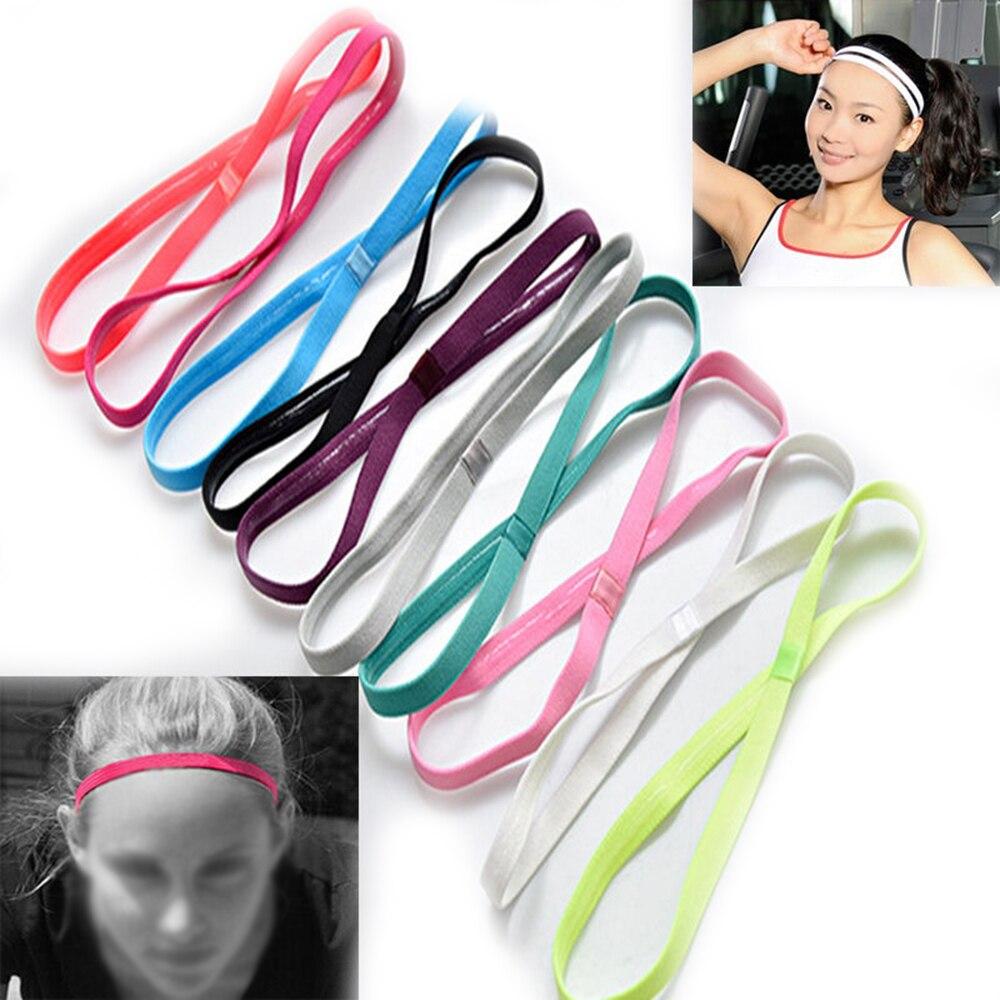 ✔  Tide Running Yoga Спортивная повязка на голову Эластичная резинка для волос Эластичные толстовки с д ★