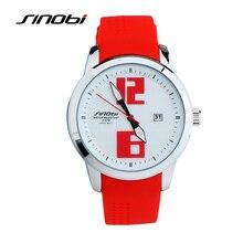 Sinobi 3 color visto mujeres relojes de pulsera de cuarzo de silicona reloj de señoras de la mujer de cuarzo reloj encantador del reloj de manera informal