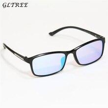 GLTREE Red Green Color Blind Corrective HD Glasses Women Men Color-blindness Colorblind Drivers license Eyeglasses G368