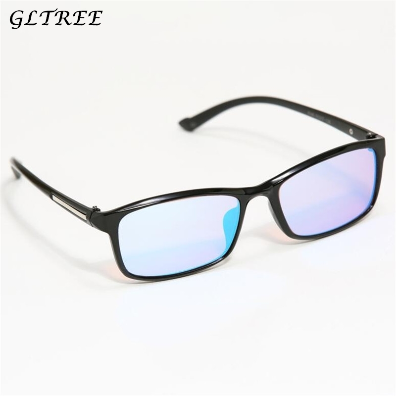 GLTREE Red Green Color Blind Corrective HD Glasses Women Men Color-blindness Glasses Colorblind Driver's license Eyeglasses G368