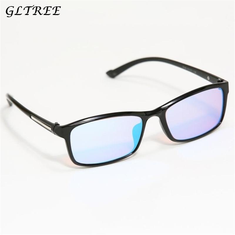GLTREE Red Green Color Blind Corrective HD Glasses Women Men Color-blindness Glasses Colorblind Driver's license Eyeglasses G368
