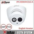 Dahua poe ipc-hdw4431c-a ir rede mini câmera dome ip com embutido micro full hd 1080 p cctv câmera 4mp