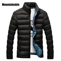 Mountainskin Hiver Hommes Veste 2017 Marque Casual Mens Vestes Et Manteaux Épais Parka Hommes Outwear 4XL Veste Mâle Vêtements, EDA104