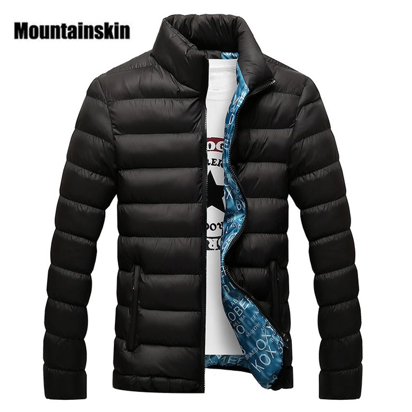 Mountainskin Hiver Hommes Veste 2018 Marque Casual Mens Vestes Et Manteaux Épais Parka Hommes Outwear 4XL Veste Mâle Vêtements, EDA104