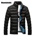 Mountainskin hombres chaqueta de invierno 2017 marca casuales para hombre chaquetas y abrigos chaqueta gruesa parka hombres outwear 4xl masculino clothing, eda104