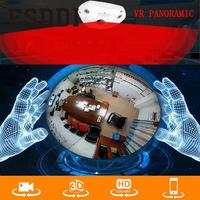 1 3MP 1280x960 Wifi 360 Panoramic Fisheye Network IP Camera Support Night Vision Professional Home Safety