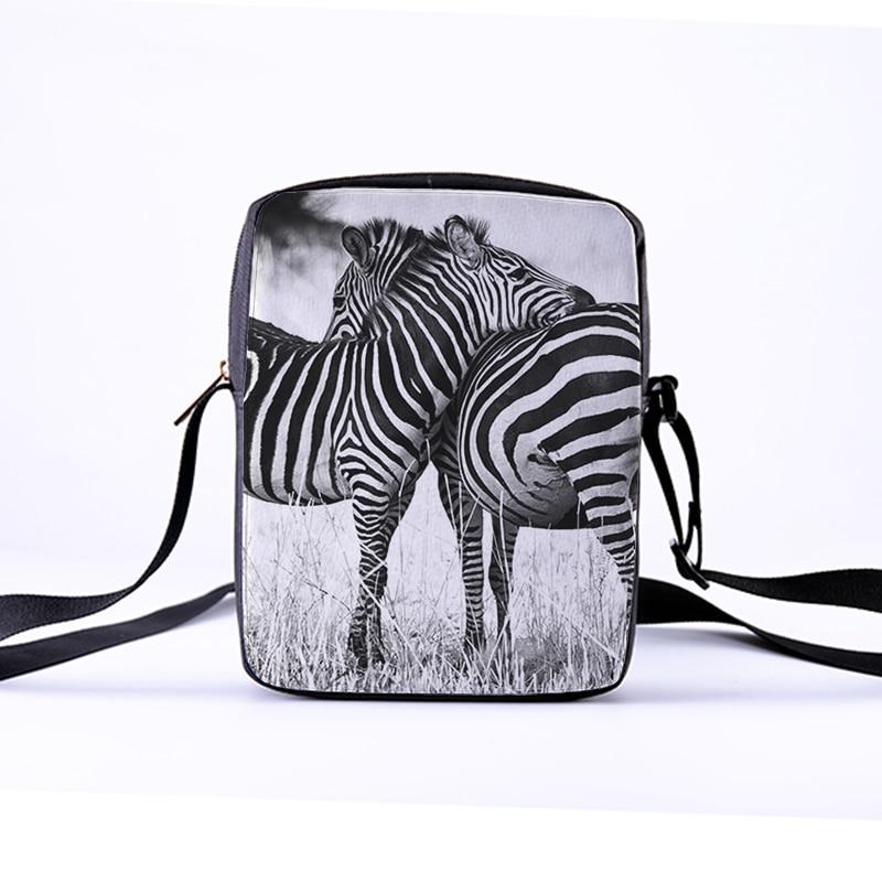 CROWDALE DIY customized Women Messenger Bags 3D-Animal Shoulder Bag Handbags Horse pentium Children Crossbody Bag 23x17x5cm