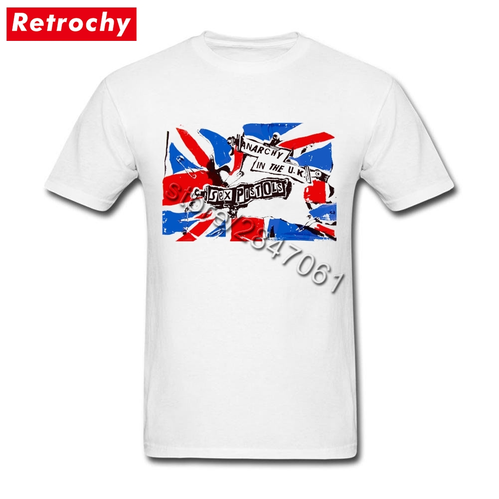 0c498c2fbe43 Latest Popular Band Tees Mens Black Anarchy in UK TShirt Sex Pistols 80s  Pop Fashion Cotton Large and Tall Short Sleeves Merch