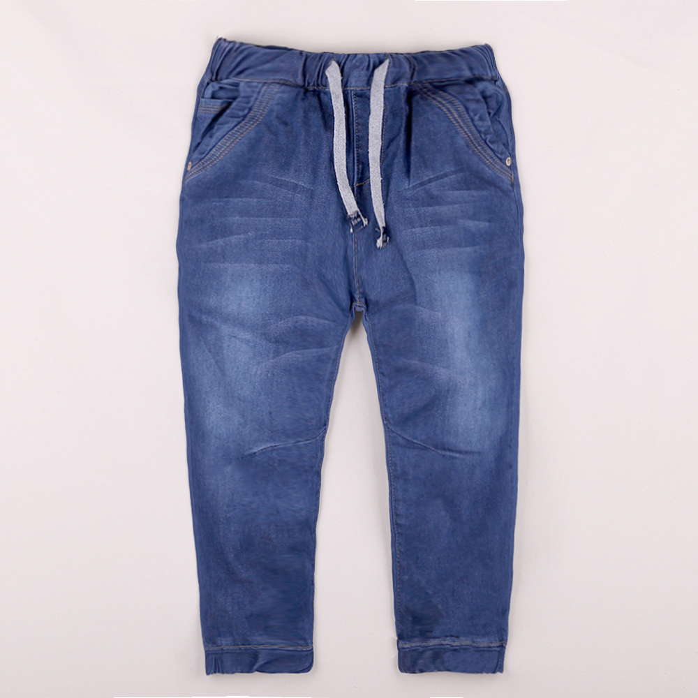 Calças jeans infantis hello enjoy, calças casuais para crianças primavera e outono 2019 calça
