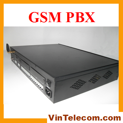 Wireless pbx system from China manufacturer -TP416(2GSM) telephone pabx system with 2 SIMs - 4lines x 16exts