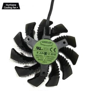 Image 2 - 75MM T128010SU 0.35A Cooling Fan for Gigabyte AORUS GTX 1060 1070 1080 G1 GTX 1070Ti 1080Ti 960 N970 980Ti Video Card Cooler Fan