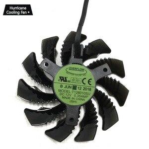 Image 2 - 75MM T128010SU 0.35A Ventilador de Refrigeração para Gigabyte GTX 1060 GTX 1070 1080 G1 AORUS 1070Ti 1080Ti 960 N970 980Ti Cooler Fan Placa De Vídeo