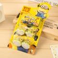 4PCs/Lot Despicable Me Minions Stamp Toys DIY Cartoon Stamp Children Stamps lembrancinha de festa infantil gift for Children