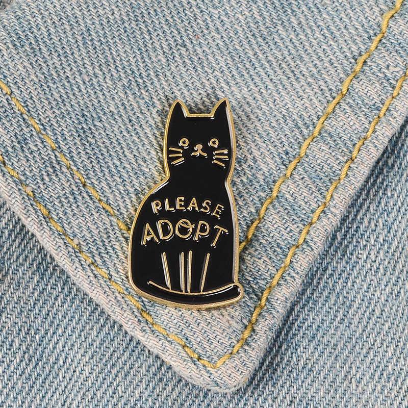 Вечерние броши в виде животного леса, кролика, овцы, совы, кошки, Ленивца, Сика, оленя, лисы, отворотом, эмалированные значки, сумка, джинсовая рубашка, Броши Одежда для друзей