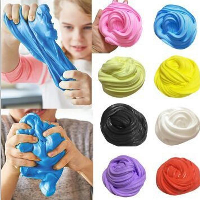 30g Hand Gum Playdough Fluffy Slime Floam Lizun Light Clay Modeling Polymer Clay Sand Fidget Plasticine Rubber Mud Pie Toy