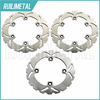 Full Set Front Rear Brake Discs Rotors For HONDA CBR F 600 CBR 600 F SuperSport