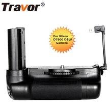 Poignée de batterie multi puissance professionnelle Travor pour appareil photo reflex numérique Nikon D7500