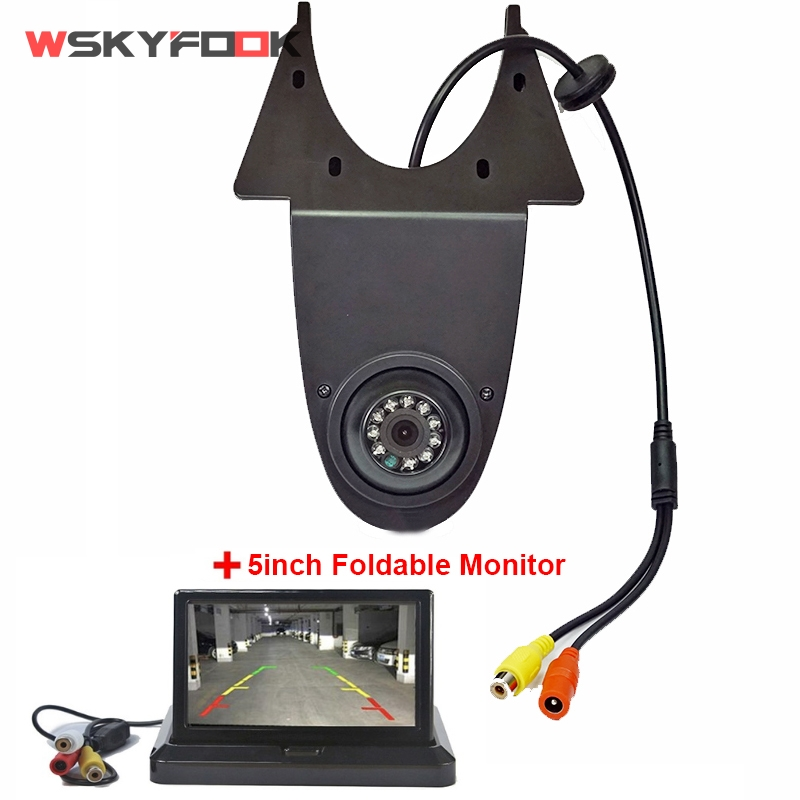 Car Brake Light Rear View Camera for Mercedes Benz Sprinter night vision Waterproof truck reverse camera