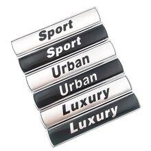 Автомобильный Стайлинг, роскошный Городской Спортивный Логотип, 3D автомобильный брызговик, знак, эмблема, наклейка для BMW E36/E30/E34/E39/E46/E60/E90/F10/...