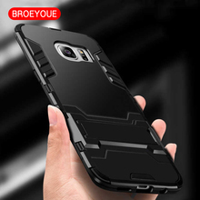 BROEYOUE Case For Samsung Galaxy A5 J5 2017 J7 J3 2016 A5 A7 2017 S7 Edge Note 8 4 5 J2 3 J5 Prime S8 S6 S5 Edge Plus Armor Case(China)