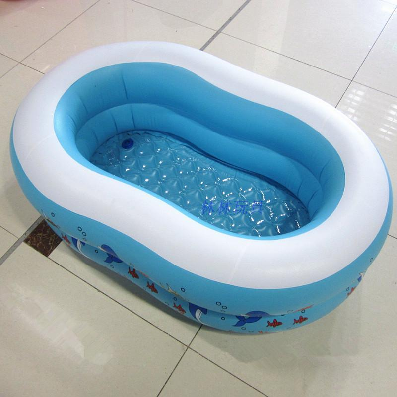 Free shipping 110cm*72cm*32cm baby pvc swiming pool for baby below 3years