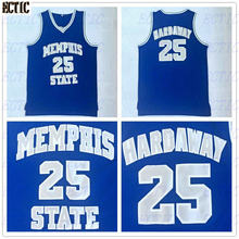 8ed1ef364 2018 Men Memphis Tigers Penny Hardaway Basketball Jersey Vintage Memphis  State 25 Penny Hardaway College Basketball Jerseys