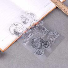 Hedgehog Silicone Transparent Clear Stamp