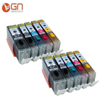 GN 10 for PGI 550 CLI 551 pgi550 pgi-550 edible ink Cartridge for Canon PIXMA MG5650 MG6350 MG6450 MG6650 MG7150 MG7550 MX725
