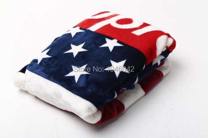 American Flag Fleece Supreme Blanket Soft Coral Fleece Fabric Top Fashion Brand Air Conditioning Blanket For The Sofa Blanket Fabric Baby Blanketblanket Printing Aliexpress