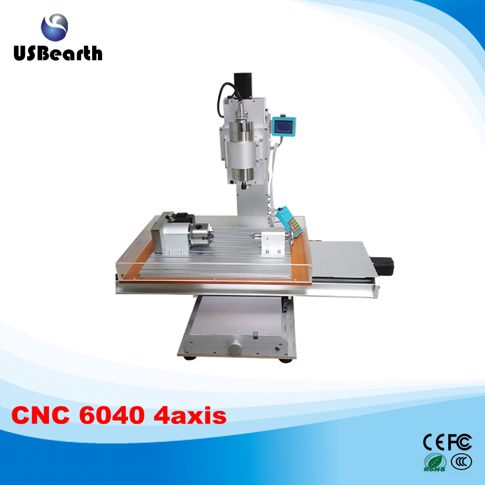 6040 CNC 4axis wood carving machine CNC engraving milling machine wood lathe cnc 5axis a aixs rotary axis t chuck type for cnc router cnc milling machine best quality