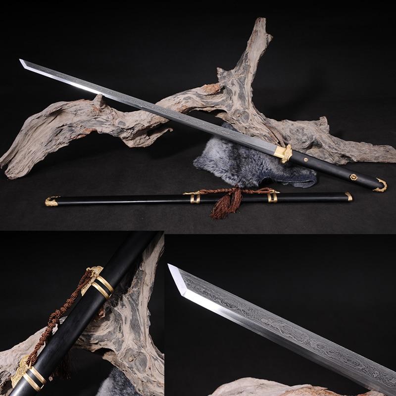 Japonské samurajské meče ručně vyráběné katany Čínský meč ručně vyráběné mědi