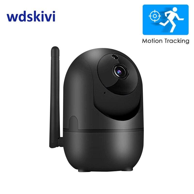 wdskivi Auto Track 1080P IP Camera Surveillance Security Monitor WiFi Wireless Mini Smart Alarm CCTV Indoor Innrech Market.com