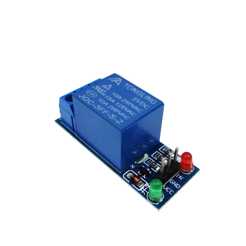 5V low level trigger One 1 Channel Relay Module interface Board Shield For PIC AVR DSP ARM MCU  1 pcs 5v 2 channel relay module shield for arduino arm pic avr dsp mcu electronic