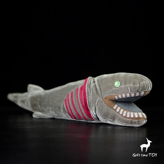 La vraie Vie En Peluche Animaux En Peluche Jouets Quasi Eel Requin Poupée Profonde-Mer Animaux Jabot Requin Enfants Cadeau D'anniversaire
