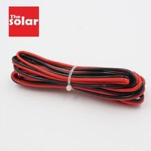 5 m x 0.3 0.5 0.75 1 1.5 mm2 isolé 2 broches fil de cuivre IEC RVB PVC câbles électriques bande de lampe à LED étendre solaire bricolage connecter