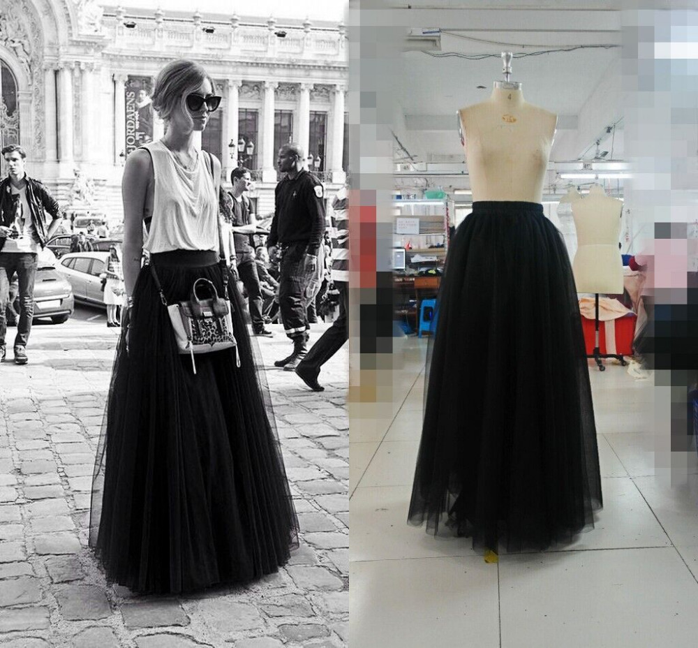 Long skirts fashion free shipping 2016 long skirt a line for Wedding dress skirt only