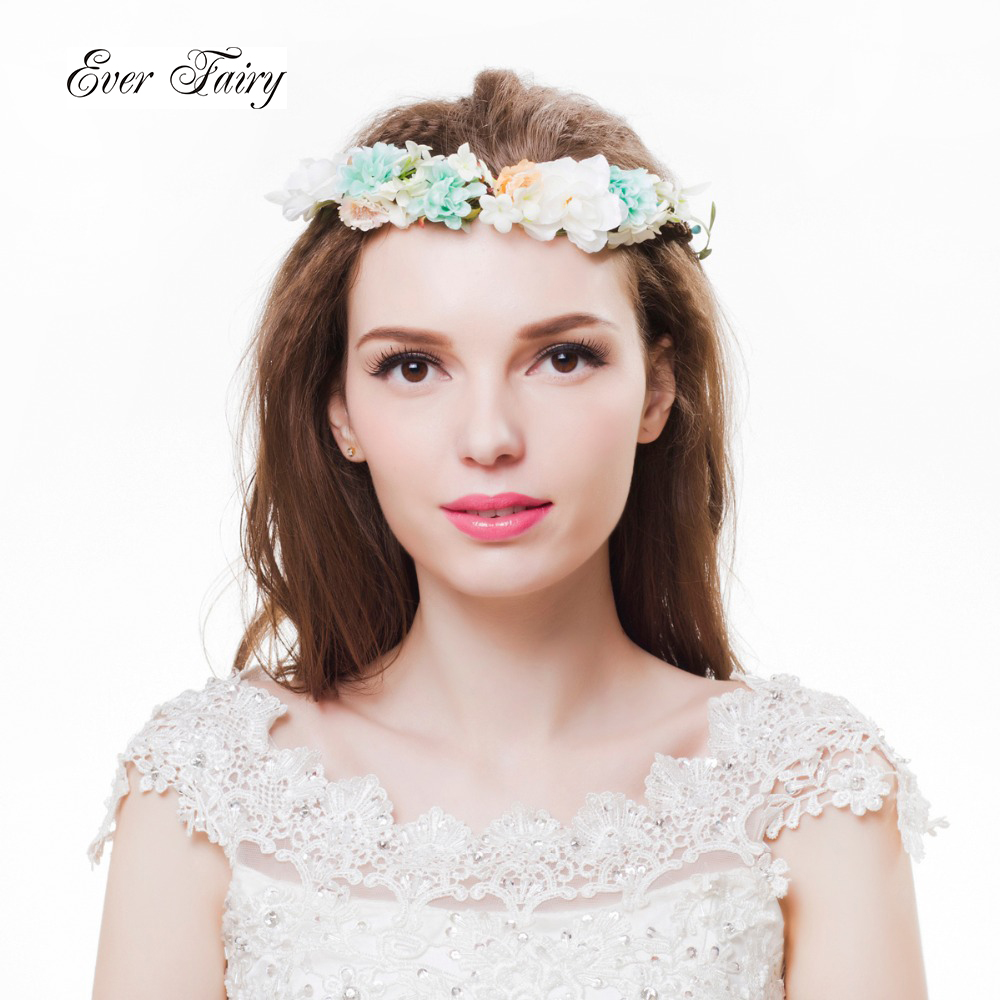 Compare Prices on Blue Flower Wreath- Online Shopping/Buy Low Price ...